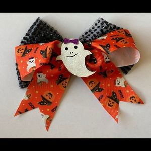 Ghost hair bow!  Brand new!